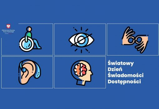 logo Światowy Dzień Świadomości Dostępności 2021